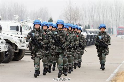 China sends first peacekeeping infantry battalion(4/13