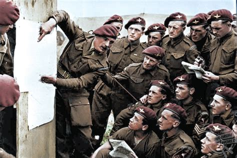 Incredible Colour Pictures Of The Allied Invasion Of