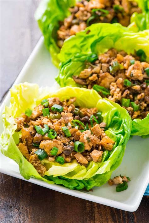 Vegetarian Lettuce Wraps   Copycat PF Changs   Well Plated
