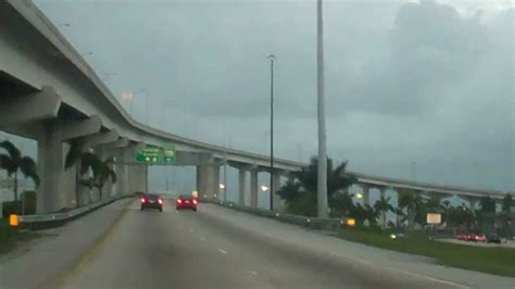 (Part 9) Driving I-95 To Florida Turnpike Toll For Sun