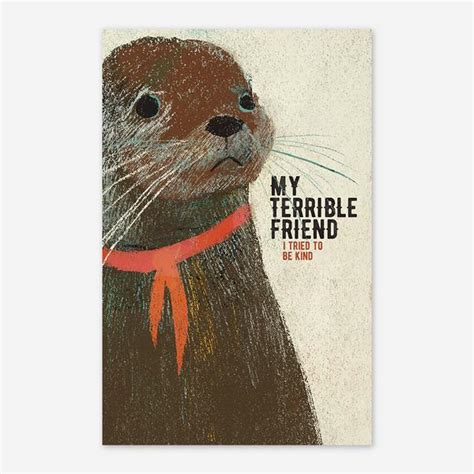Sad Otter Poster – Hello Merch