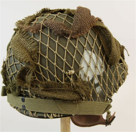 US WWII Paratrooper Helmet, 506th Easy Company, assembled