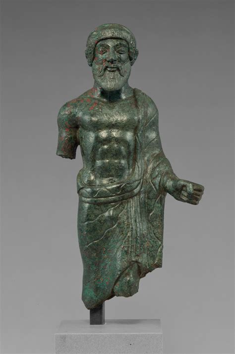 Statuette of a Bearded Man, Probably Tinia (Getty Museum)