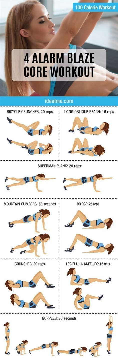 21 Incredible Flat Belly Ab Workouts - Young Hip Fit