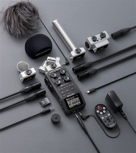 Mobile recorder Zoom H6 + kit APH6