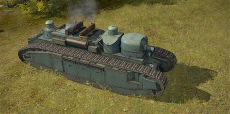 Char 2C, French tank developed during WWI and the largest