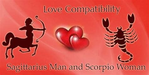 Sagittarius Man and Scorpio Woman Love Compatibility