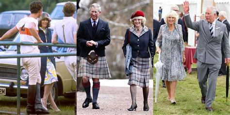 Prince Charles & Camilla Parker Bowles' Relationship In Photos