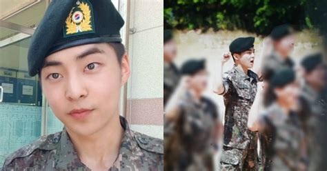EXO's Xiumin Is A Top Trainee In The South Korean Army And