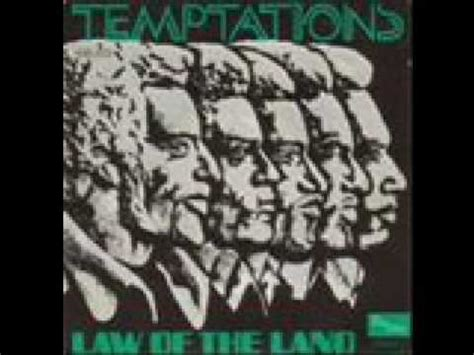 The Temptations - Law Of The Land - YouTube