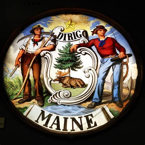Maine State Seal | Flickr - Photo Sharing!