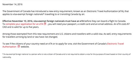 Question: Why does Air Canada require a permanent resident