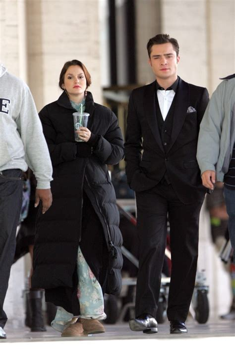 Leighton Meester, Ed Westwick - Leighton Meester and Ed