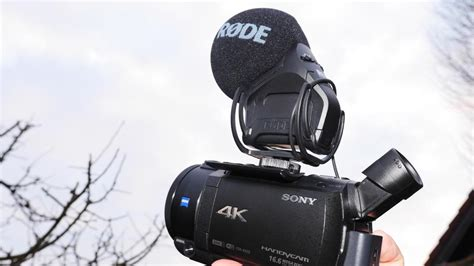 Camcorder-Ton-Tuning: externe Mikrofone am Sony FDR-AX 53