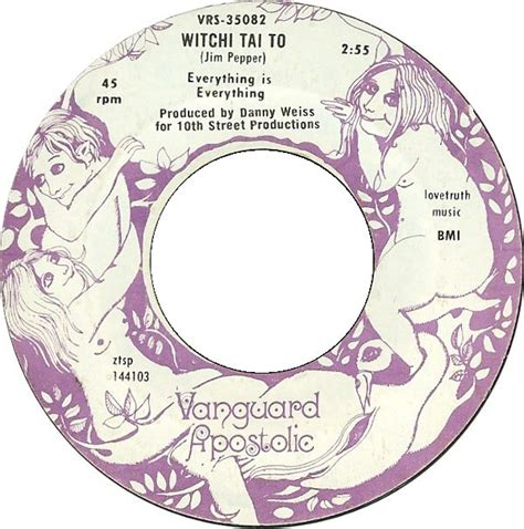 Everything Is Everything - Witchi Tai To (1969, Vinyl