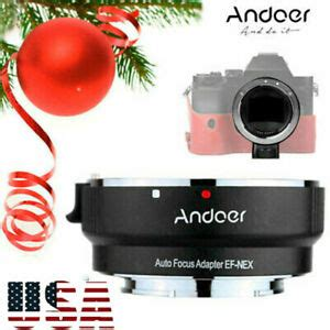 Andoer AF Lens Adapter Rings For Canon EF EFS To SONY E