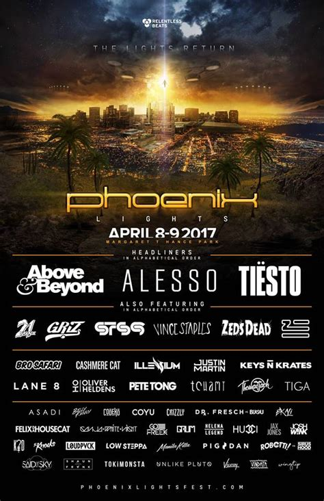 CONTEST : Phoenix Lights Music Festival - 7 Can't Miss