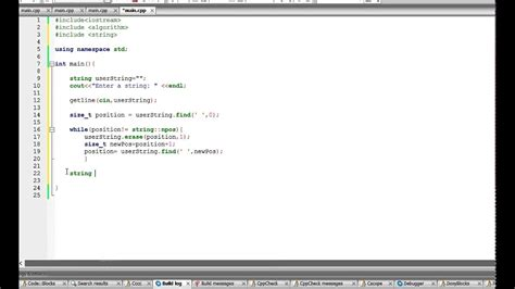 C++ program : Check if a string is a palindrome - YouTube