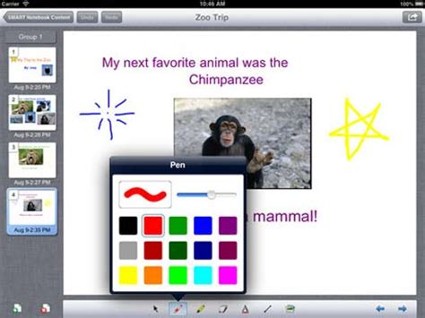 Smart notebook users can now harness iPad for learning