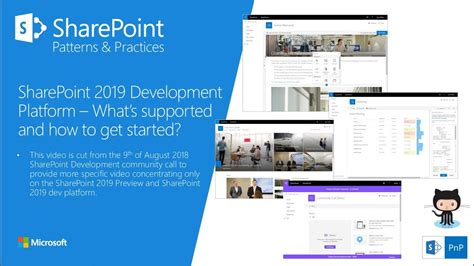 Introduction to SharePoint Server 2019 Development