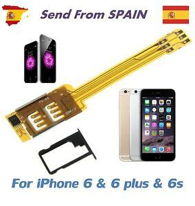 Dual SIM Card Adapter Converter for iPhone 6, iPhone 6