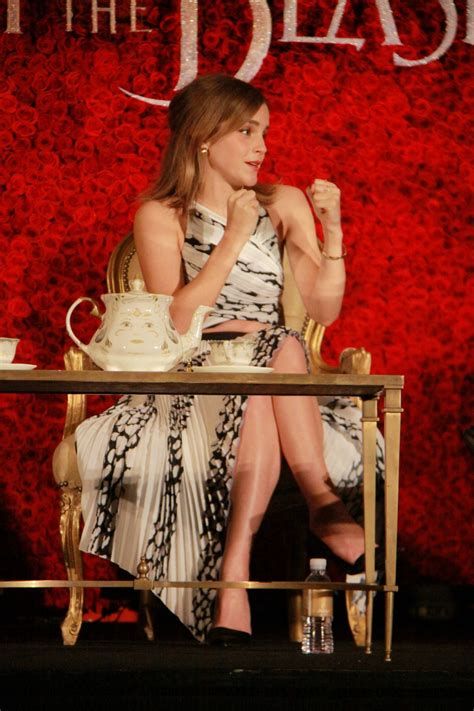Emma Watson - 'Beauty and the Beast' Press Conference in