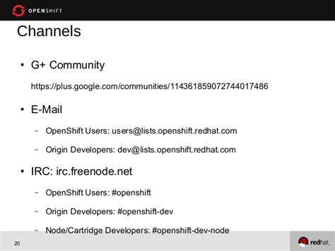 Extending OpenShift Origin: Build Your Own Cartridge with