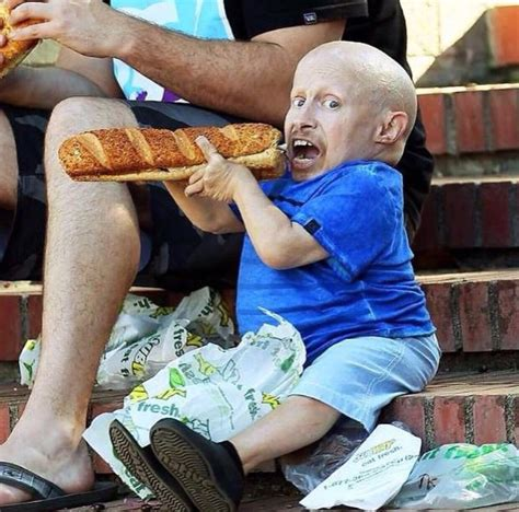 Why didn't Subway cut up Verne Troyer's 12 inch sandwich?