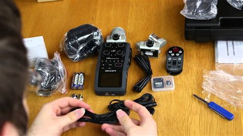 Unboxing + Test: Zoom H6 (vs