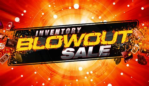 Inventory Blowout Sale