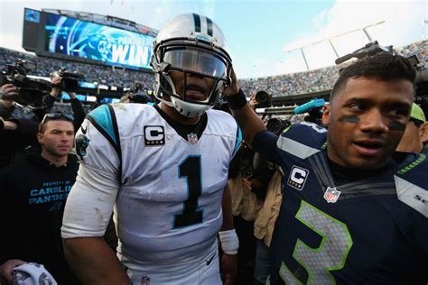 Russell Wilson vs Cam Newton: By the numbers - Field Gulls