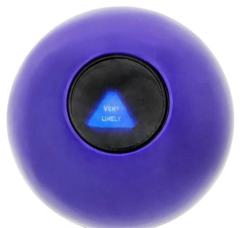 MAGIC ORB BALL EIGHT 8 BALL ANSWERS QUESTIONS PARTY GAME