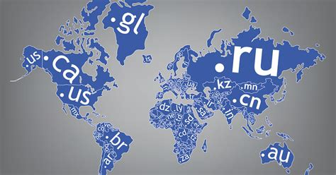 ccTLD Liste: Country Code Top-Level Domains in der