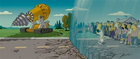 Under the Dome: The Simpsons already did it?