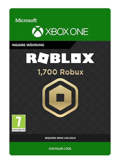 1700 Robux for Roblox - Xbox One Game – Startselect