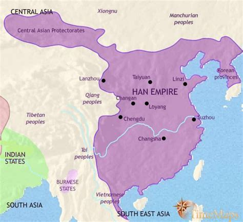 Ancient China Interactive animated history map from