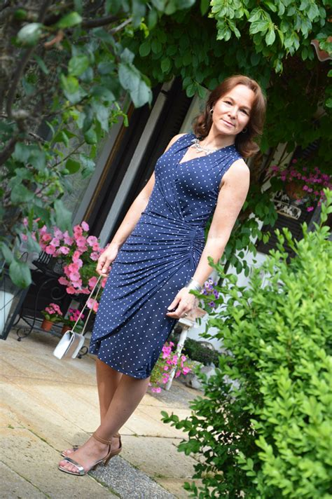 POLKA DOTS AND WRAP DRESS | Lady of Style