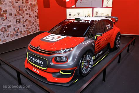 Citroen's C3 WRC Is the Most Beautiful Rally Car in Paris
