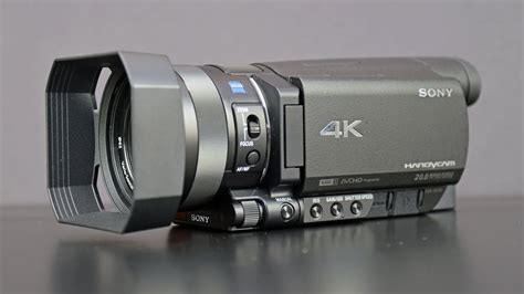 Sony 4K Handycam (FDR-AX100): Unboxing & Overview - YouTube