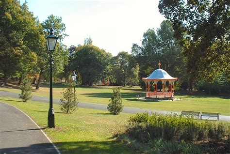 The Bandstand, The Arboretum, Lincoln   In the east end of