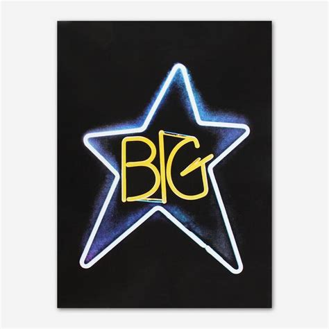 Big Star - Neon Poster – Hello Merch