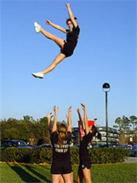 The Blog for Cheerleading Coaches: The Kick Basket Toss