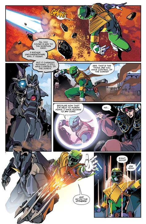Comic Book Preview: Mighty Morphin Power Rangers #9