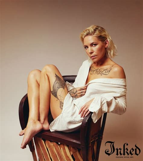 Exploring The Unknown with Skylar Grey - Tattoo Ideas