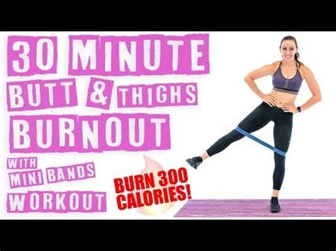 30-Minute Butt-and-Thighs Burnout With Mini Band Workout