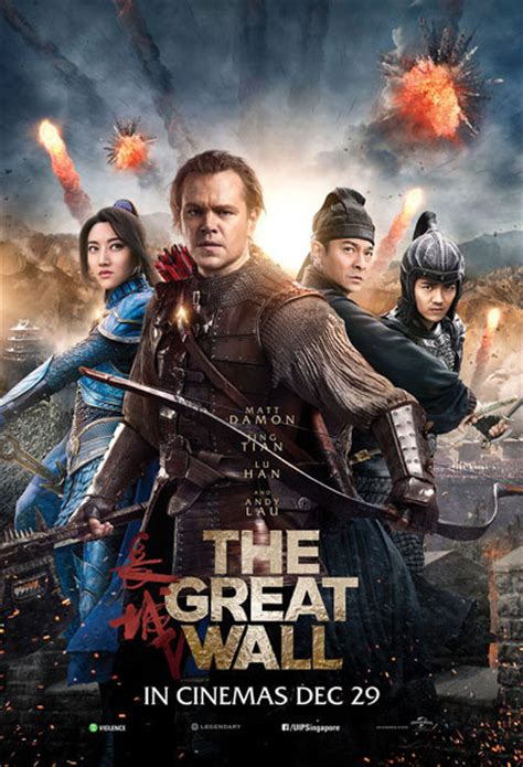 Watch The Great Wall (2016) In Singapore Cinemas
